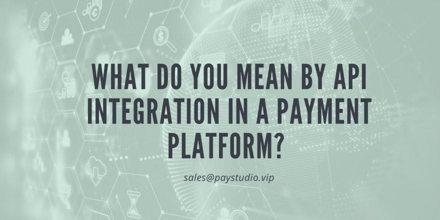 What do You Mean by API Integration in a Payment Platform?
